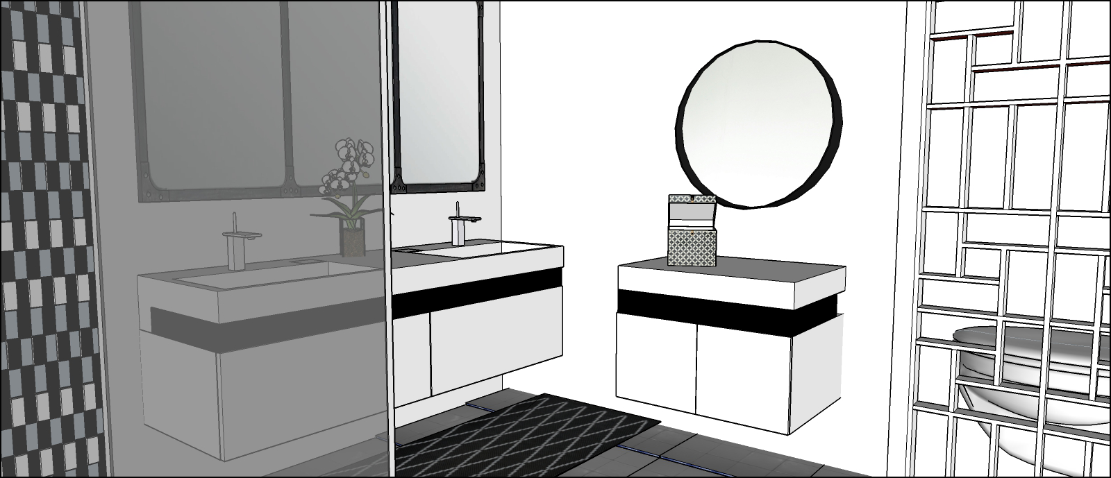 Salle De Bain Attenante Signification ~ appartement 48 m 1er tage d un duplex passion d co and co